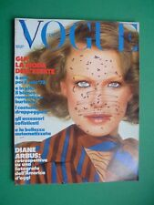 VOGUE Mayo 1973 May Hack De Shelley Liv Ullmann Claudia Cardenal Diane Arbus 258