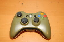 Microsoft Xbox 360 Army Green Black Wireless Video Game Controller TESTED WORKS