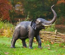 Bronze,Dekor,Garten,Springbrunnen,Brunnen,Etagenbrunnen,Wandbrunnen,Elefant