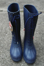NATIVE PADDINGTON UNISEX BOOTS NAVY BLUE WOMEN 7 MEN 5 NWT RAINBOOTS