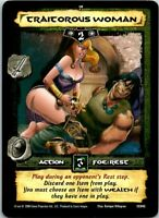 Conan Core CCG TCG Card #045 Traitorous Woman