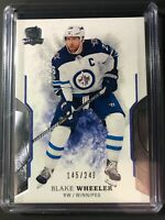 2017-18 The Cup Blake Wheeler Winnipeg Jets /249