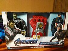 Marvel Avengers Titan Hero Series Hulk Captain America Electronic Gauntlet NIB