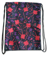 *NEW* Sailor Moon: Sailor Mars Pattern Drawstring Bag by GE Animation