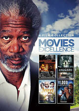 4 Film Collection: Movies of Excellence (DVD) Blood Brothers, Endgame, Jewel NEW