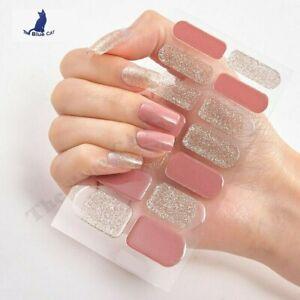 Nail Art Stickers Self-Adhesive DIY Stylish Nail Wraps Full Cover Sticker 👌🏼