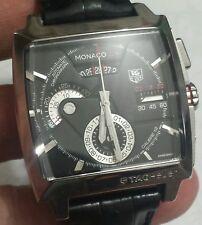 TAG Heuer Monaco LS  CAL.12 Automatic Chrono Men's Watch Start Bid $1 No Reserve