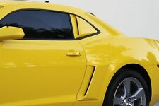 2010 - 2015 Camaro Xenon Rear Window Scoops & Body Side Scoops 2014 2013 2012