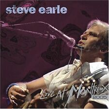 Steve Earle - Live at Montreux 2005 (CD 2006) New & sealed
