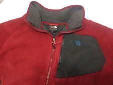 Jacket - THE NORTH FACE Men's Large TUNDRA FLEECE VEST, Red ( EUC ) -- 491