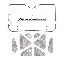 1958 1960 Ford Thunderbird Under Trunk Cover with F-088 Thunderbird Script