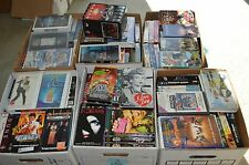 Lot of 200+ VHS CLASSIC, HORROR,THRILLER, COMEDY -Pick 10!!