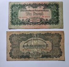 Lot 10,20,50,100 Pengö 1944