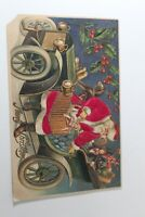 Antique Vintage Christmas Greetings Postcard 1908 Collectible Post Card
