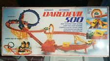 Vintage 1970s Daredevil 500 Motorized Stunt Slot Car Set Durham