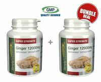 Ginger 12000mg BUNDLE DEAL 240+240 Tablets   Joint Care   Health Supplement
