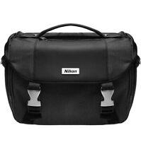 Nikon Camera Bag Digital SLR Camera Bag Black Adjustable Strap Black Gray