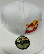 Red Bull New Era - Athlete Only Hat - Fitted NewEra 59Fifty Size 7 1/2 Deadstock