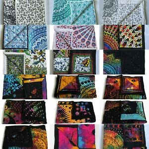 50 Pcs Wholesale Lots Indian Baby Quilt Print Handmade Cotton Kantha Bed Covers