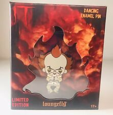 Loungefly IT Pennywise Clown Enamel Pin in Box Collectible LE 500