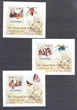 MOZAMBIQUE 2009, Butterflies, Kirby (I) set of 6SS, De Luxe MNH**(11)