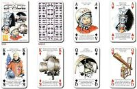 Geschichte von Transport - Raum Exploration Set mit 52 Spielkarten + Joker ( Hpc