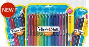 Papermate Inkjoy Gel Pens  Blue Black Assorted Free Shipping