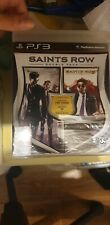 saints row double pack the third 3 IV 4 neuf sous blister ps3 ps 3 playstation 3