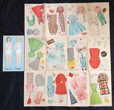 Peggy & Ann, Teen Time Dolls Paper Dolls, Whitman Set, 1954