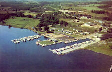 BAUDHUIN YACHT HARBOR, STURGEON BAY, WI. 1957