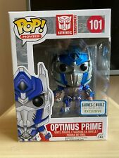 Optimus Prime (Metallic) Barnes & Noble Exclusive Pop Vinyl Figure Transformers