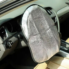 Silver Car Cool Grip Steering Wheel Cover UV Reflective Sun Shade Heat Protector