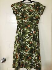 vintage 50s dress Handmade. Princeton originals