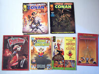 6 Comic Books Marvel Graphic Novels Conan Gold Key Disney Musketeers