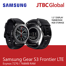 New Samsung Gear S3 Frontier LTE SM-R765 1.3in 4GB Factory Unlocked Smartwatch