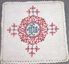 Pale Calice Objet liturgique Religion Croix Broderie