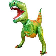 Tyrannosaurus Rex T-Rex Dinosaur 5ft Multi Sided Dino Foil Balloon Decoration