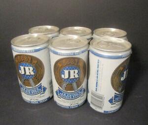 "6 J.R. Ewing ""Dallas"" Beer Bier Dosen original verpackt/verschlossen Jahr 1980"