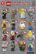LEGO MINIFIGURE SERIES 9 CHECKLIST