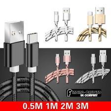 Tressé Type C USB Fast Charging Data Sync Câble De Chargeur Pour Divers Tablette...