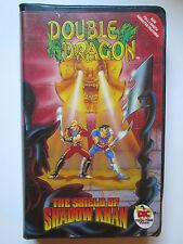 "Double Dragon - ""The Shield of Shadow Khan"" (VHS, 1994) Clamshell Case (NTSC)"