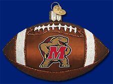 """Maryland Football"" (61900) Old World Christmas Glass Ornament"