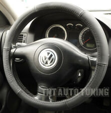 LEATHER Steering Wheel Cover VW Touran Sharan Touareg