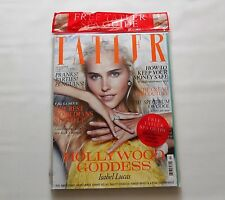 Isabel Lucas Tatler UK Magazine + FREE Spa Guide November 2011 Sealed