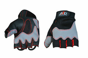 ARD Cycling Cycle Bike Half Finger Gloves Padded on Palm (S-2Xl)