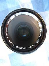Olympus 50mm f 3,5 macro Zuiko : neuf en boite ! Objectif argentique, monture OM