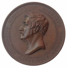Russia Medal 1856 ENGINEER-GENERAL ALEXANDER WILSON 62 yrs in service of Empire