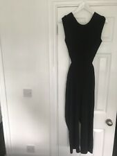 Zara Jumpsuit Black Size XS Gorgeous Backless Xmas Party/holiday