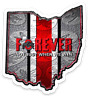 "O.S.U. Ohio State University Buckeyes ""OSU Forever-Not Just When We Win"" MAGNET"