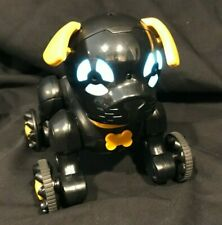 WowWee Chippies Robot Toy Dog - Chippo, Black. No Remote Control